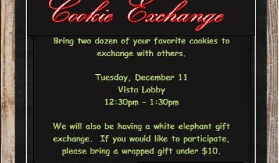 Barrett Cookie Exchange