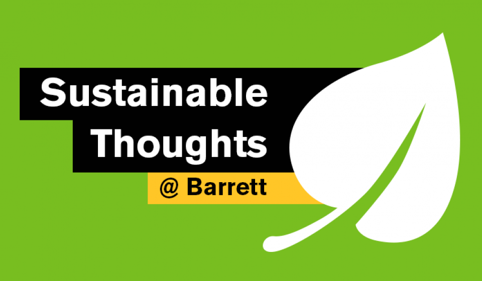 Sustainable Thoughts from Barrett