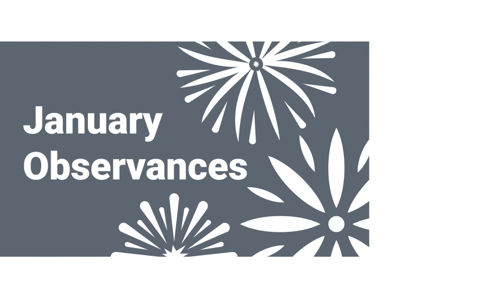 January Observances